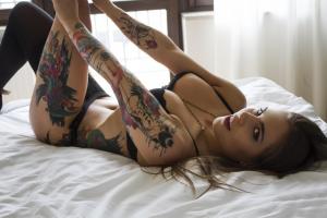 Tattooed escorts